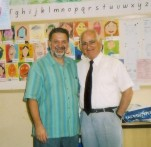 Dr. Zervis with Mr. Gonopoulos at the West Ryde location